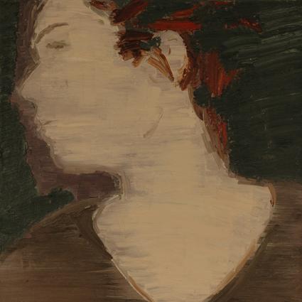 INGEBORG DE GROOT Portret geschilderd door Jeroen Krielaart